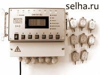 Система контроля вибрации СКВ-301-8Ц