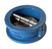 Затвор (клапан) обратный чугунный поворотный однодисковый 19ч21бр