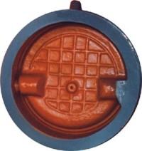 Затвор (клапан) обратный поворотный 19ч21р