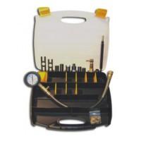 SMC-105 — компрессометр для диагностики дизельных грузовых а/м отечественного и импортного пр-ва (компрессометр, 16 адаптеров, в чемоданчике)