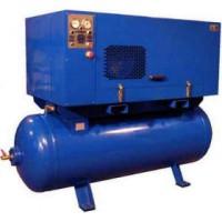 ВК-55М1 — компрессор стационарный (1 900 л/мин, 10атм, ресивер 500л, 15КВт, 380В, 500кг)