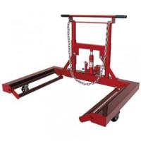 9.66 (5.90015) — тележка гидравл для снятия и транспортировки колес г/п 600кг, высота подъема опор 80-290мм