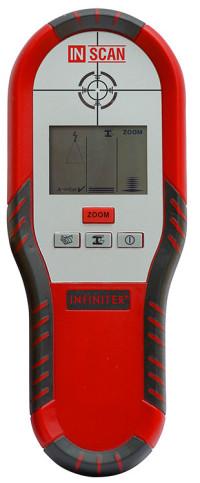 INFINITER InScan — детектор металлов, пластика, дерева и скрытой проводки