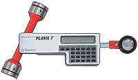 PLANIX-7 — планиметр