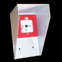 ИПР наружный - Извещатель пожарный ручной («Разбей стекло») наружной установки (спец. заказ)